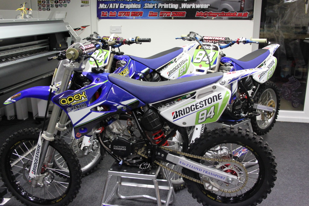MX Motocross Graphic Printing with Design and Fitting